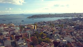 Lively istanbul turkey on a sunny day Stock Image