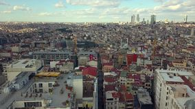 Lively istanbul turkey on a sunny day Stock Photo