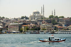 View of Istanbuls Suleimania Mosque. Turkey  view of Istanbuls  Suleimania Mosque Stock Photo