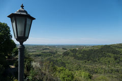 View on Istrian countryside Stock Images