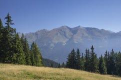 View of the Italian Alps from Rosskopf - Monte Cavallo Stock Photo