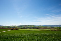View of italian countryside Stock Photos