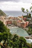 View of an Italian fishing village Royalty Free Stock Photo