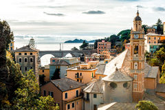 View of Italian town Royalty Free Stock Photos