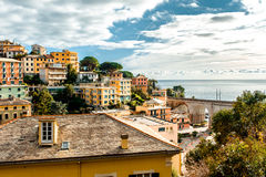 View of Italian town Stock Photo