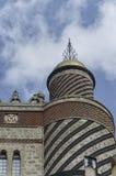Italian Villa in Moorish style. View of a Italian Villa in Moorish style Royalty Free Stock Photos