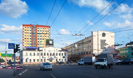 View of Ivanovo - Revolution Square Royalty Free Stock Photos