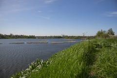 View on Iziaslav city Royalty Free Stock Photo