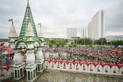 View from the Izmailovo Kremlin Royalty Free Stock Photos