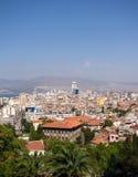 View of Izmir. Panoramic view of Izmir from Varyant way Royalty Free Stock Image