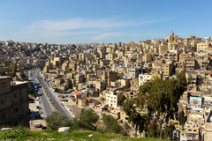View of Jabal Amman, Jordan Stock Image
