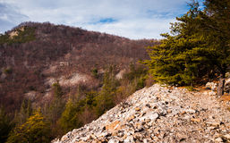 View of Jack's Mountain, in Mount Union, PA Royalty Free Stock Photos