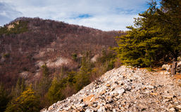 View of Jack's Mountain, in Mount Union, Pennsylvania. View of Jack's Mountain, in Mount Union, Pennsylvania royalty free stock photo