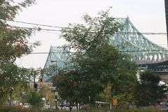 Jacques Cartier Bridge Montreal Royalty Free Stock Images