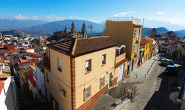 View of  Jaen in sunny day.  Spain Royalty Free Stock Photography