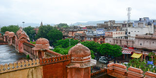 View of Jaipur city, India Stock Image