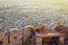 View of Jaipur Stock Photography