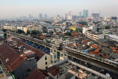 View of Jakarta Stock Photo