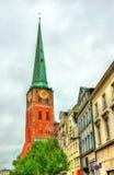 View of Jakobikirche, St. Jakobi Church in Lubeck, Germany Stock Photos