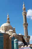 Jalil Khayat Mosque Erbil Iraq. View of Jalil Khayat Mosque Erbil Iraq Stock Photo