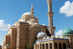 Jalil Khayat Mosque Erbil Iraq. Royalty Free Stock Photos