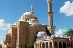 Jalil Khayat Mosque Erbil Iraq. View of Jalil Khayat Mosque Erbil Iraq Royalty Free Stock Photos