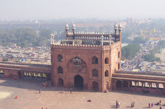 View of Jama Masjid, New Delhi, India Stock Image