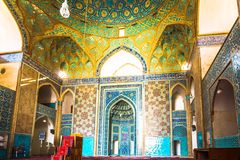 Jame mosque in Yazd - Iran stock images