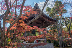 View of japanese belfry in Japan Royalty Free Stock Photo