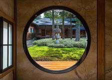 View of a Japanese Garden Royalty Free Stock Photo