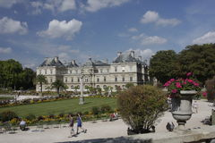 View of Jardin de Luxembourg, Paris Stock Images