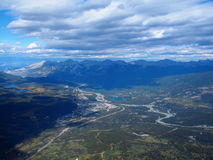 View of Jasper, Canada Stock Photography