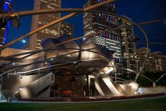 View of the Jay Pritzker Music Pavilion Royalty Free Stock Photography