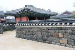 View of Jeju Mok Office in South Korea Stock Image