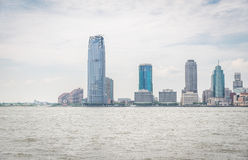 View on Jersey City Royalty Free Stock Photo