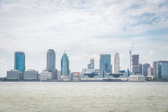 View on Jersey City Royalty Free Stock Images