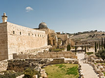 View of Jerusalem Stock Images