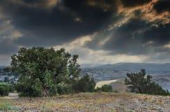 View on Jerusalem hills, Israel Stock Images