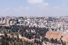 View of Jerusalem . Israel. Royalty Free Stock Photography