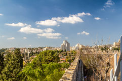 View of Jerusalem in Israel Stock Photo