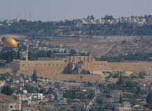 The view of Jerusalem Royalty Free Stock Images