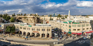 View of Jerusalem from the Old City Wall, Israel Royalty Free Stock Photography