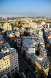 View of Jerusalem from roofs. View of Jerusalem city from the high rooftop. Jerusalem today Stock Photo