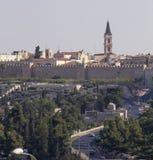 View of the Jerusalem walls,Israel Stock Image