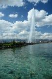 View of Jet d'eau Stock Photos