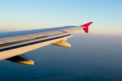 View of jet plane Royalty Free Stock Photography