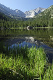View of Jewel Lake in Colorado Rocky Mountains Royalty Free Stock Images