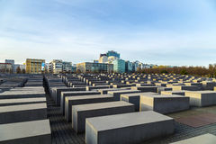 View of Jewish Holocaust Memoria Stock Images