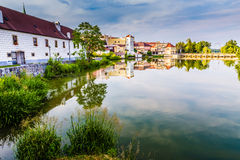 View of Jindrichuv Hradec Castle-Czech Republic Royalty Free Stock Images