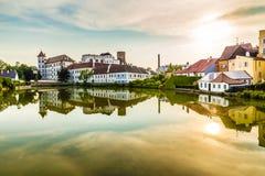 View of Jindrichuv Hradec Castle-Czech Republic Stock Photos